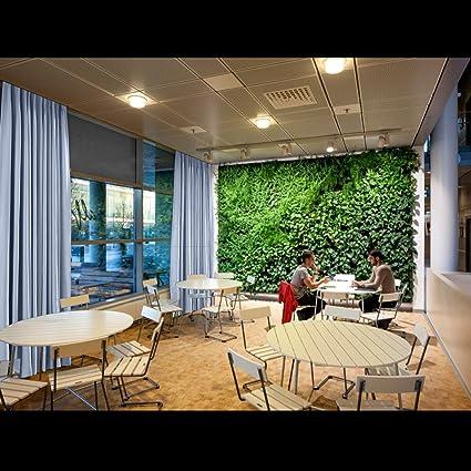 chadmade Pinch Pleat térmica aislante opaco Patio puerta cortina Panel Drape para barra de Traverse y Track, (1 Panel), azul celeste, 90Wx54L: Amazon.es: Jardín