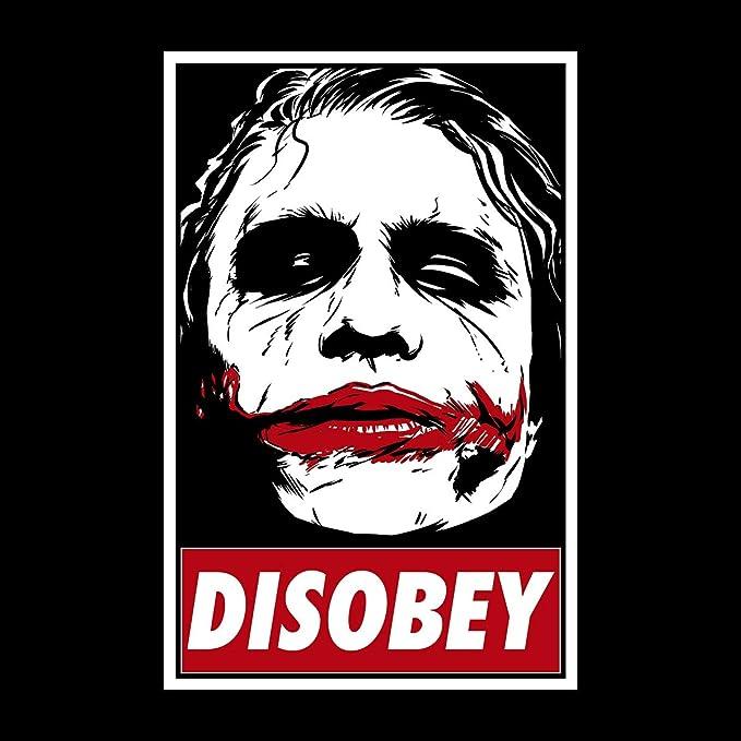 Resultado de imagen de joker disobey