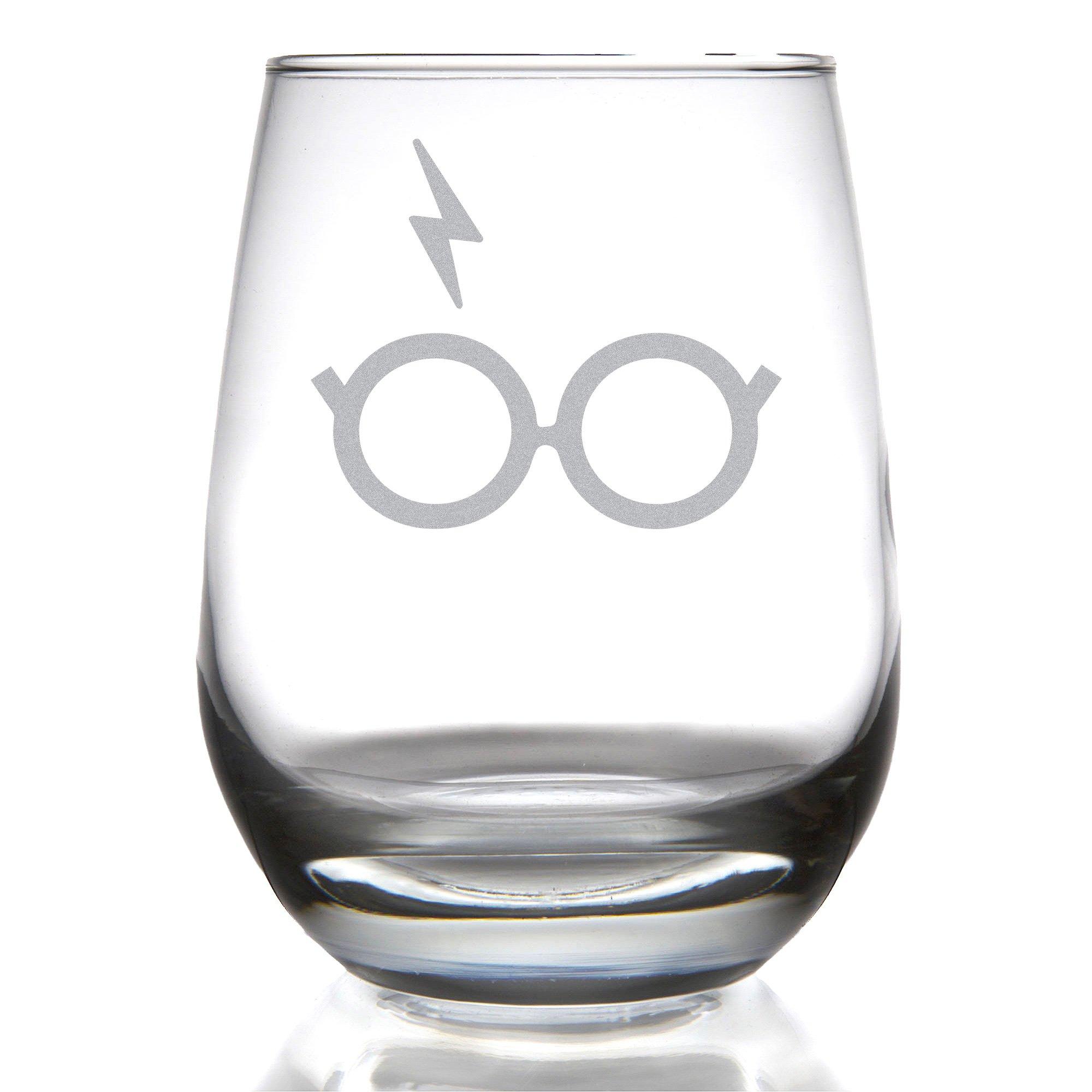 Minimalist Potter Stemless Wine Glass