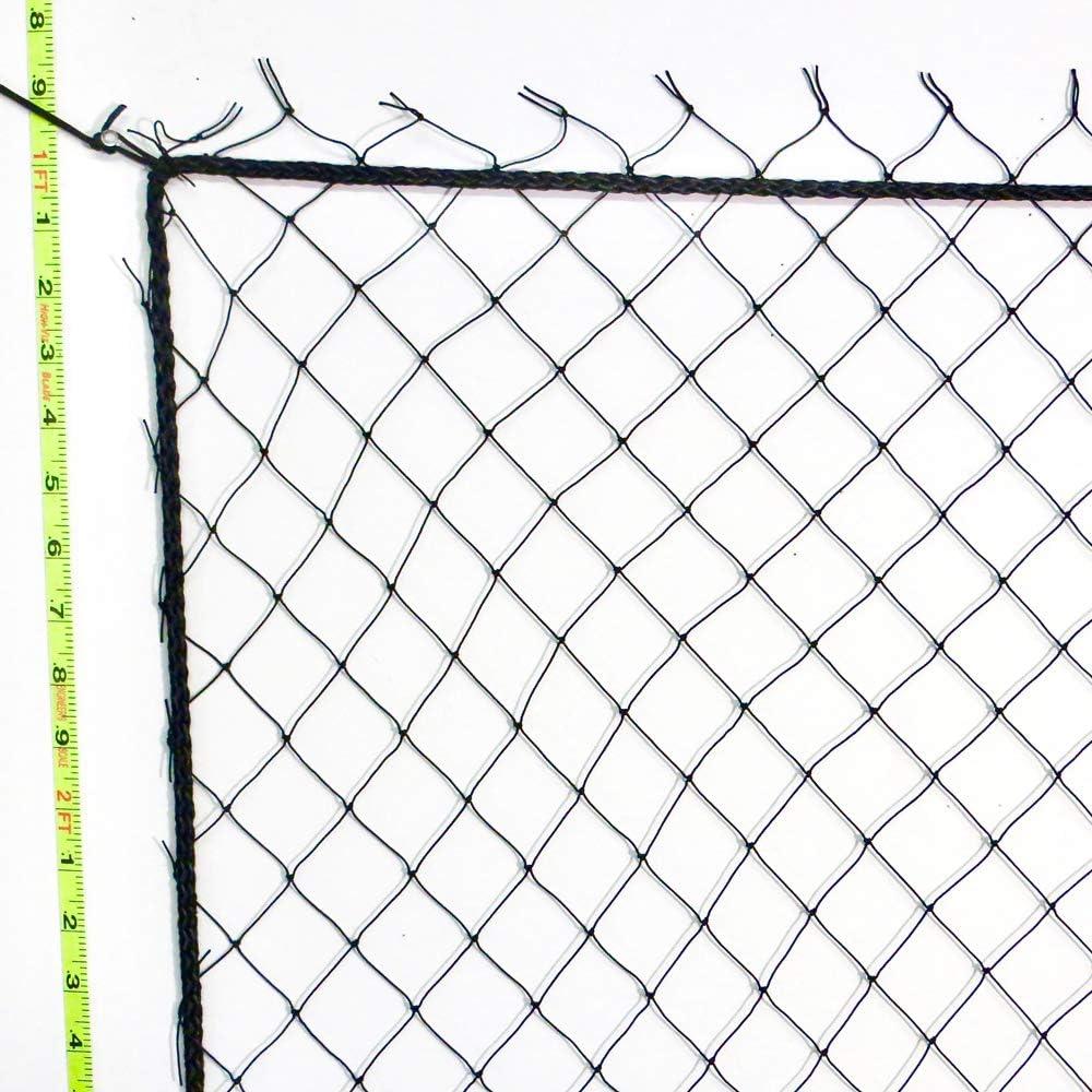 "40/' x 25/'  Football Barrier Soccer All Sports Softball New Nylon Net  2/""  # 7"