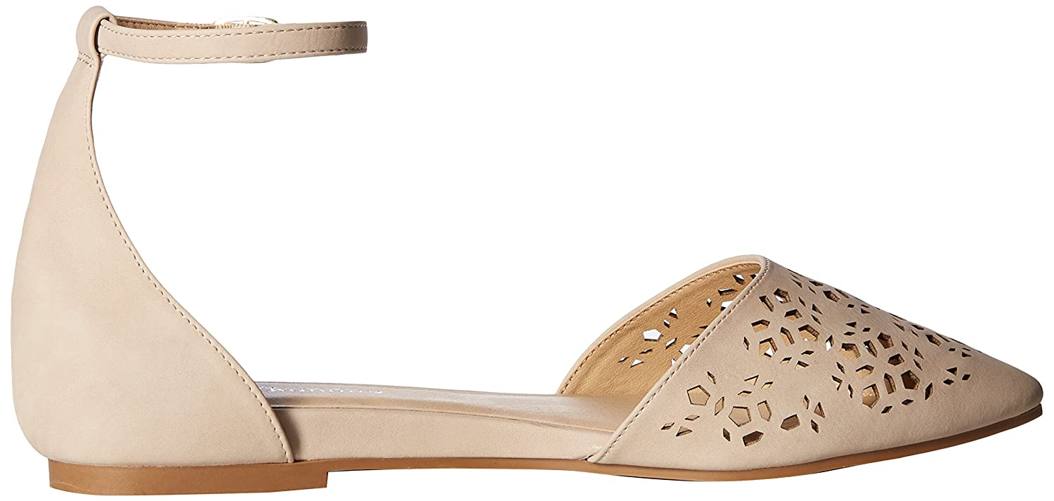 CL by Chinese Laundry Women's Hello Ballet Flat B076DNFQN7 6.5 B(M) US|Pale Nude Nubuck