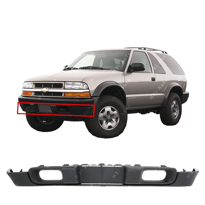GM1092164 Black Front Lower Bumper Air Deflector Valance 1998-2005 Chevy S10 Blazer//Pickup 98-05 MBI AUTO Textured