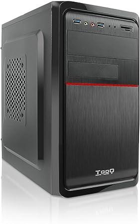 Tooq TQC-4745DU3C-B Caja de Ordenador (Microatx ,Con Fuente de 500 ...