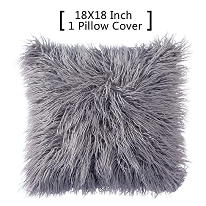 amazon home decorative solid pillows toss com dp gray textured square perfect pack pillow kitchen