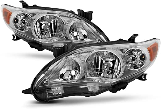 For 2011-2013 Toyota Corolla Headlight Assembly Set 86283MF 2012