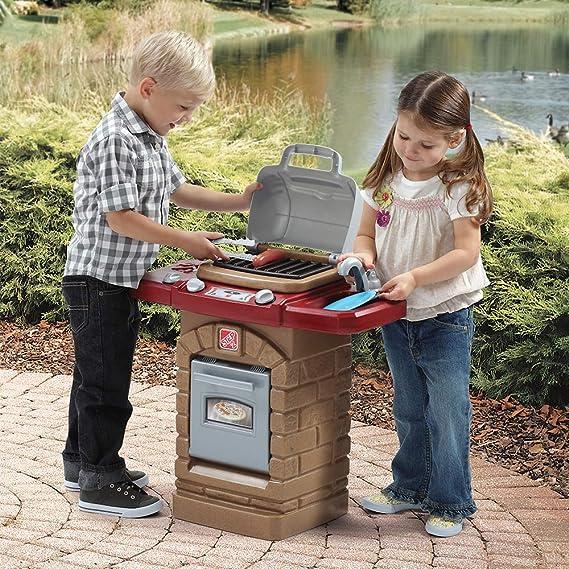 Step 2 Barbacoa Infantil con Accesorios (ColorBaby 85317): Amazon.es: Juguetes y juegos