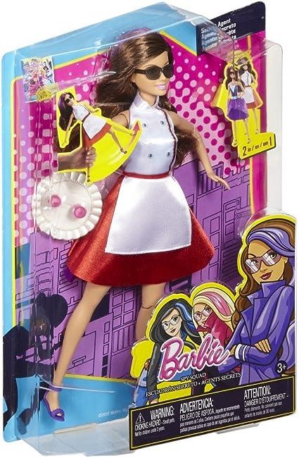 Barbie - Muñeca, Teresa superespía (Mattel DHF07): Amazon.es ...