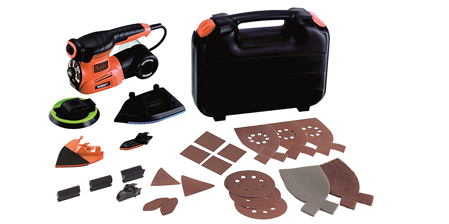 Black + Decker KA280LK-QS Ponceuse  220 W Black & Decker