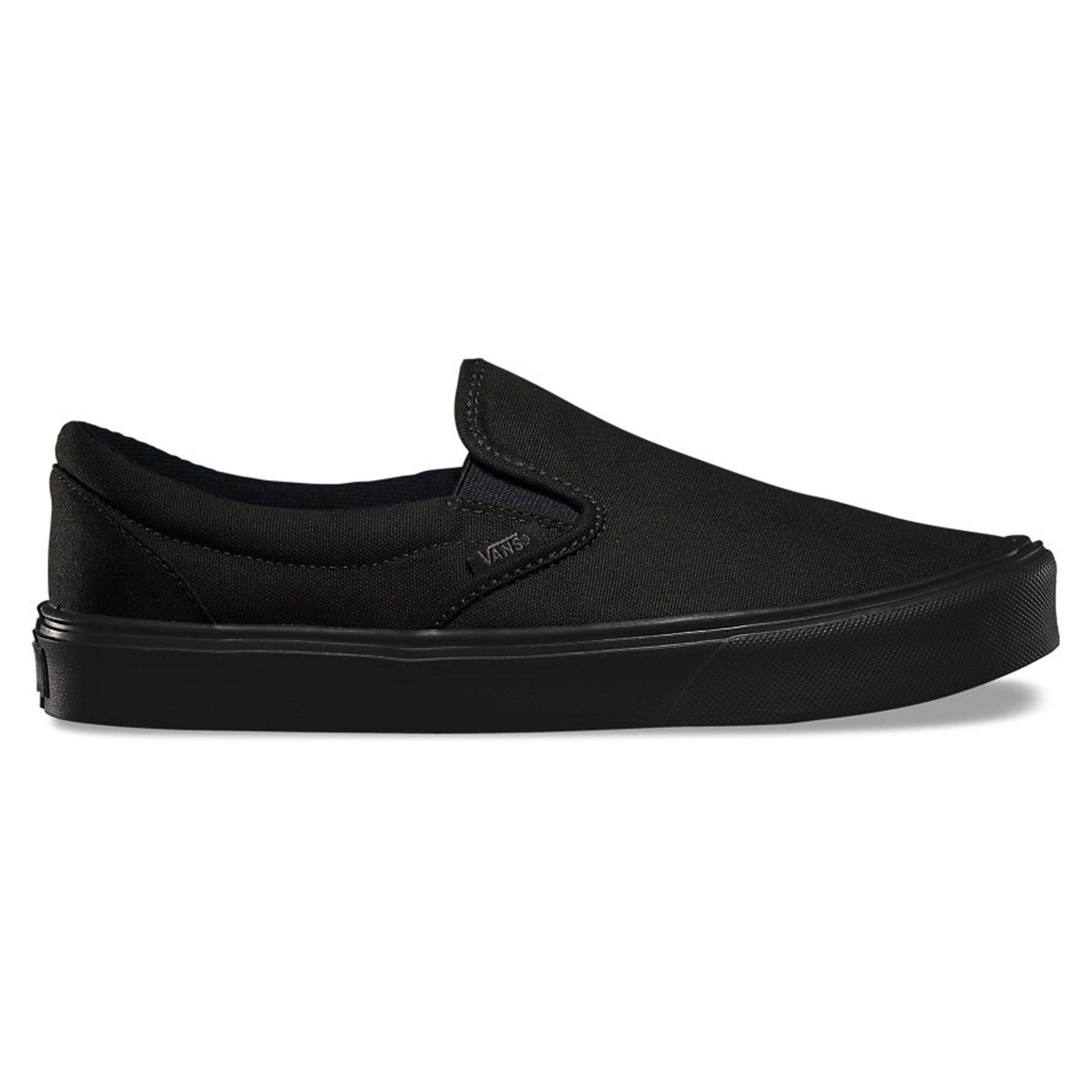 c0a9c012d7 Galleon - Vans Men s Black Canvas Slip On - 7.5 D(M) US
