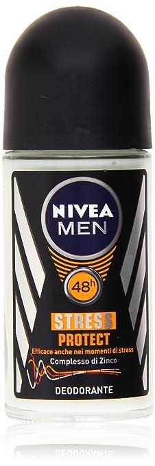 37 opinioni per Nivea Men- Stress Protect, Deodorante con Complesso di Zinco- 50 ml