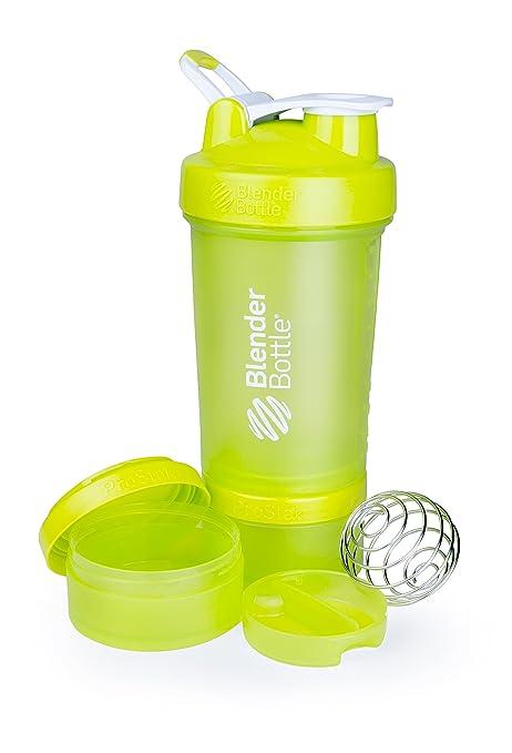 239 opinioni per Blender Bottle ProStak Shaker per proteine 650 ml con 2 contenitori incl. 1