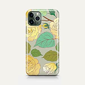 covery cases Silicon Back Cover Yellow Flow For Iphone 11 Pro - Multi Color