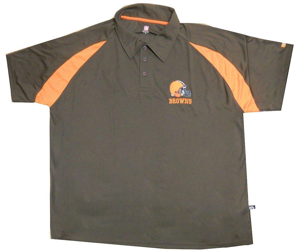 Cleveland Browns Nfl para hombre ropa de equipo poliéster Polo ...