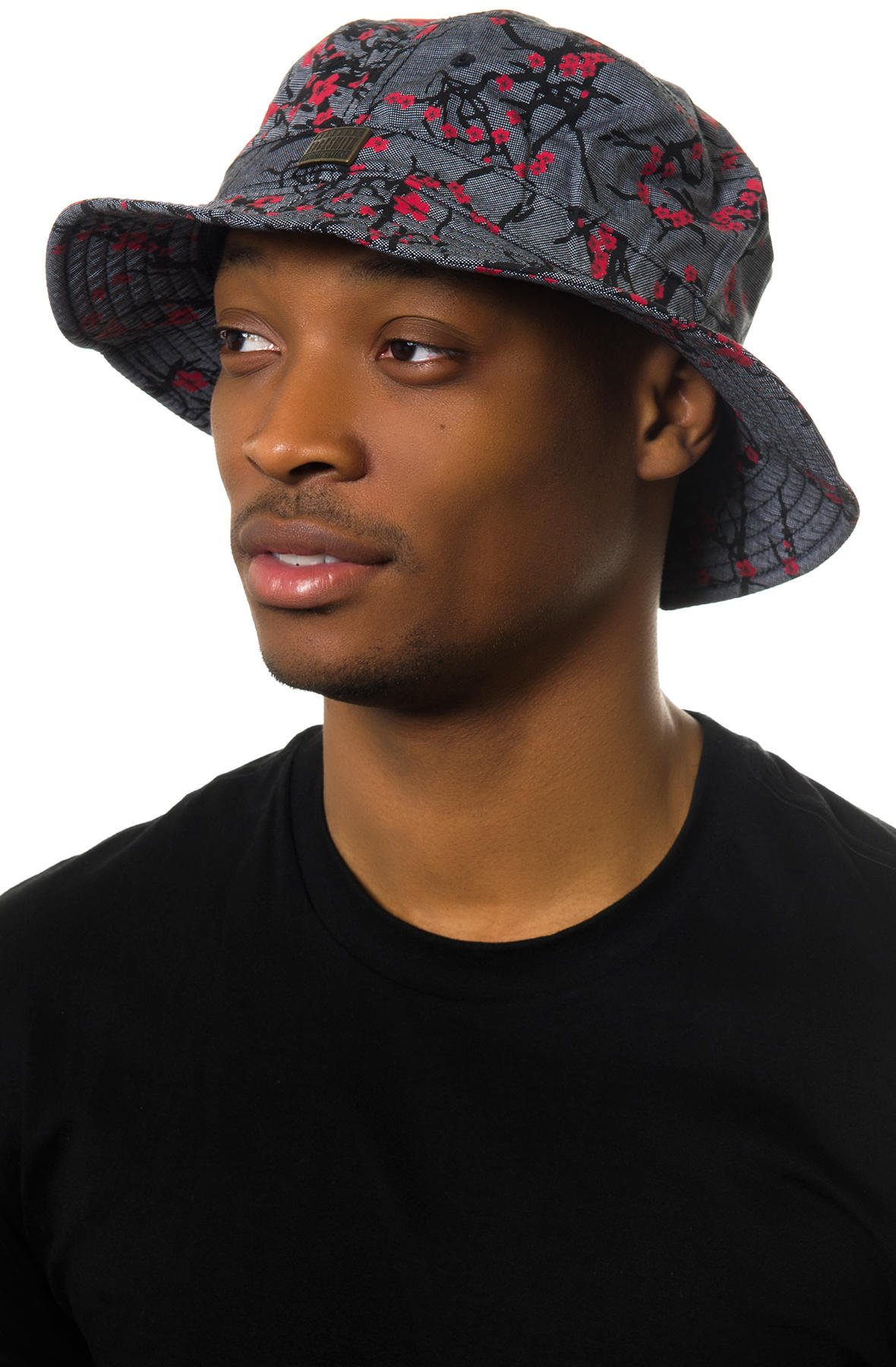 Floralby Creative Japanese Print Bucket Hat Men Women Foldable Sun Hat Outdoor Cap UV Protection