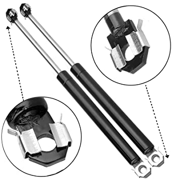Amazon Com Scitoo Front Hood Lift Supports Replacement Struts Gas