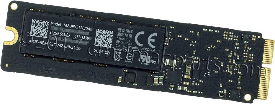 "15 A1398 Mid 2015 512GB SSUBX SSD Apple MacBook Pro Retina 13/"" A1502 Early 2015"