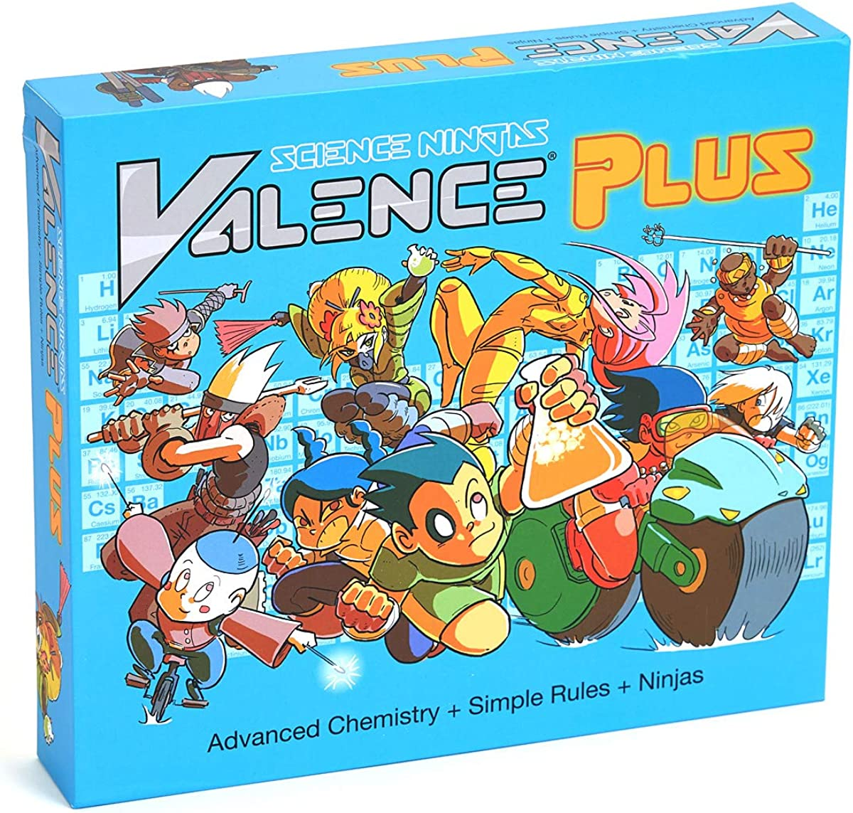 Valence Plus - Use Real Chemistry to Break Down Your Opponents' Molecules!