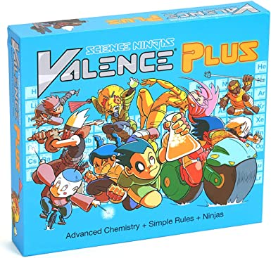 Valence Plus - Use Real Chemistry to Break Down Your Opponents Molecules!