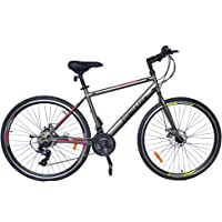 700c/ 28T Wheel Size 21 Speed Shimano Gear Cycle with Dual disc Brakes- Tungsten Bikes