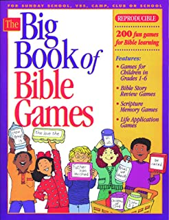 the big book of bible games 1 big books