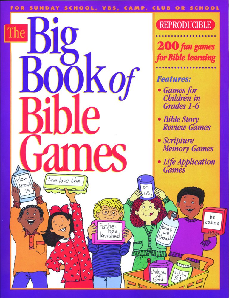 The Big Book of Bible Games #1 (Big Books): Gospel Light ...