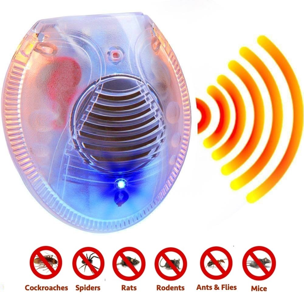 #1 Ultrasonic Pest Repeller Repels Away Rodents, Mice, Cockroaches, Ants and Spiders - Plug In Easy to Use - Best Pest Control Device for Indoor Use (4)
