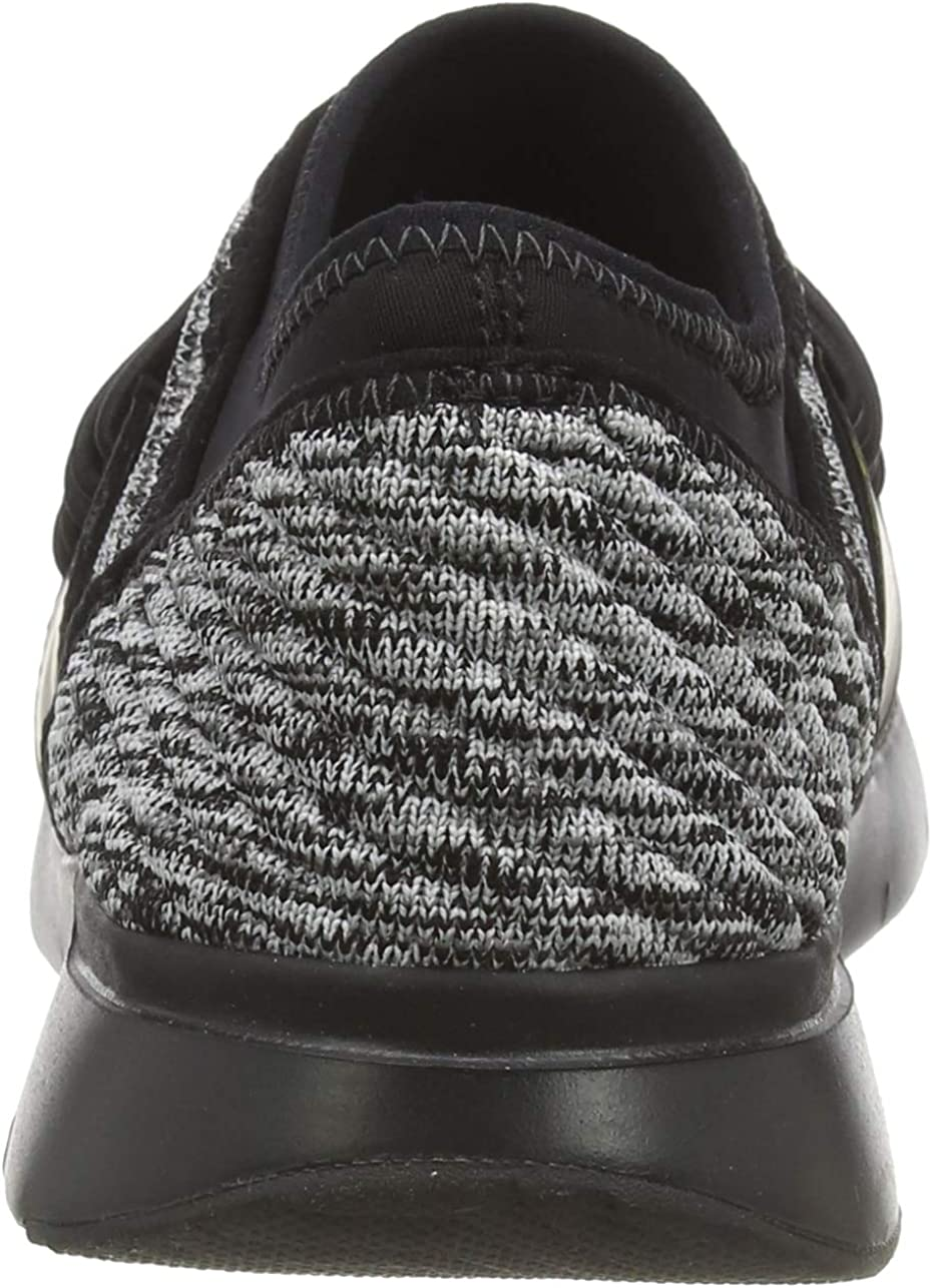 Fitflop Artknit Angeline Lace Up Sneaker, Donna Nero Black Mix 231