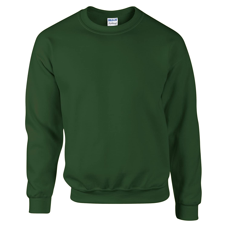 8f018717 Gildan DryBlend Adult Set-in Crew Neck Sweatshirt (13 Colours) at Amazon  Men's Clothing store: Athletic Sweatshirts