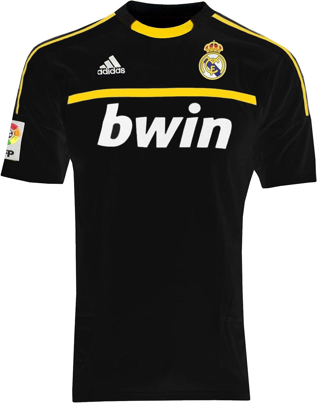 Adidas REAL A GK JSY Camiseta Negro Amarillo Real Madrid Portero ...