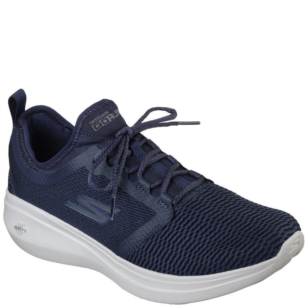 Skechers Men's GOrun Fast Cross Training Shoes Navy B07DKFVHCC 12 D(M) US|Navy