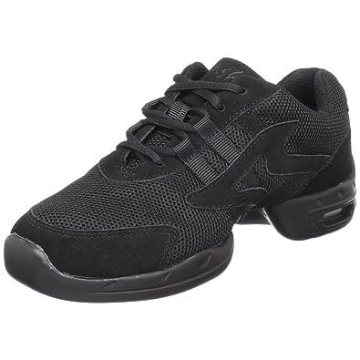 09a8f16b415 M Sansha Motion Dance Sneaker,Black,10 M Sansha (8.5 M US Women's