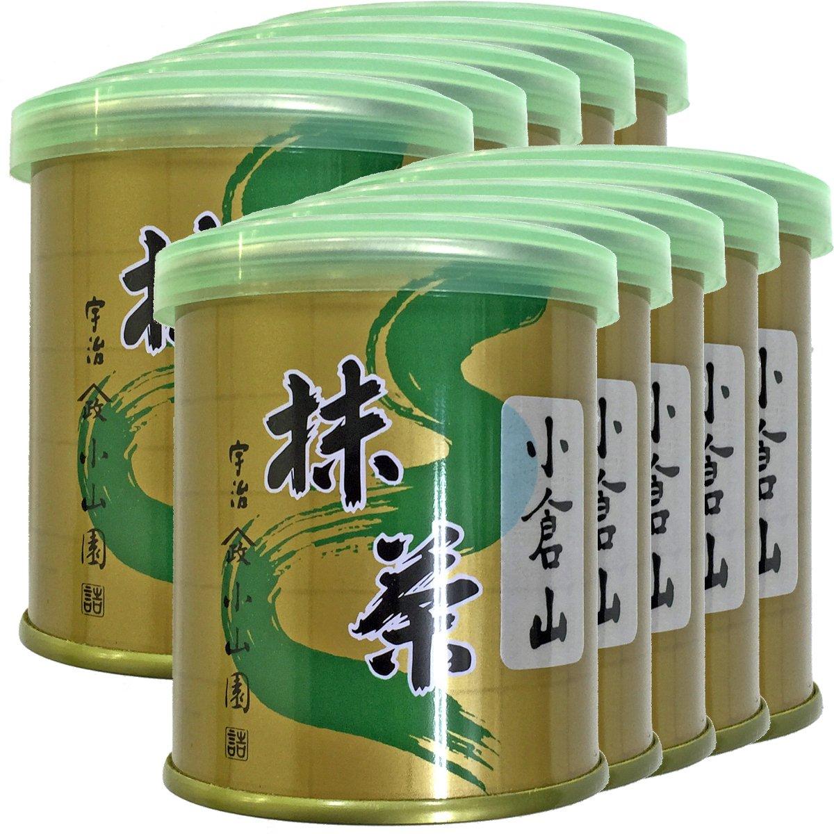 Japanese Tea Shop Yamaneen Matcha OGURAYAMA 30 g x 10packs