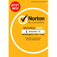 Norton Antivirus Basic 2018   1 Gerät   1 Jahr   PC   Download