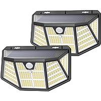 Luz Solar Exterior, SEZAC [310LED / 3 Modos] Focos Solar Exterior Jardin, 270º Ilumination Luz LED Solar Exterior con…