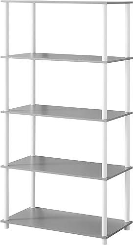 Mainstays No Tools Assembly Shelving Storage Unit 8-Cube
