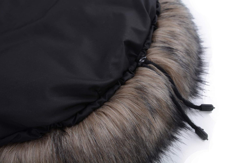 Cottonmoose Moose Shine Saco de invierno dormir térmico para carrito silla de bebé universal abrigo polar - disponible en diferentes colores (651 Shiny ...