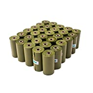 390 Count Dog Poop Bags, 26 Rolls Biodegradable/Extra Large/Durable Scented Pet Waste Pick-Up Bags with 1 Dispenser