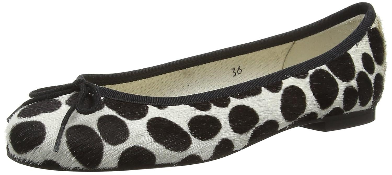 451b7871e35d2 French Sole Women's Henrietta Spot Calf Hair Ballet Flats: Amazon.co.uk:  Shoes & Bags