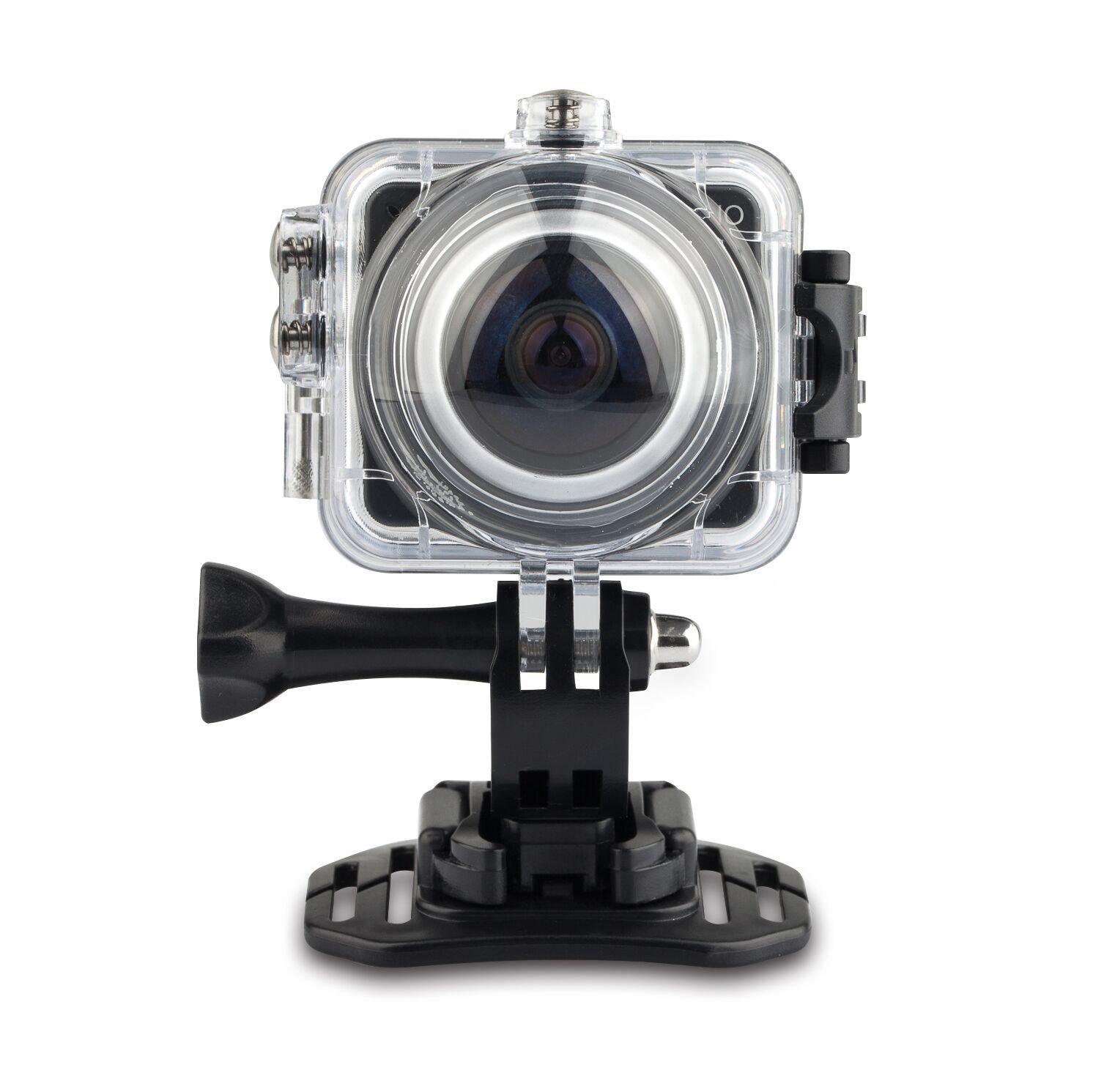 TechComm 360B VR 12 MP 360 Panoramic Action WiFi Camera CMOS Sensor