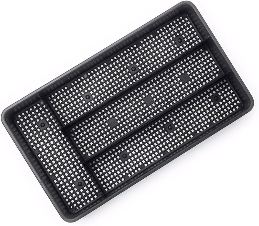 Dial Industries B694K Small Mesh Cutlery Organizer Tray, Black