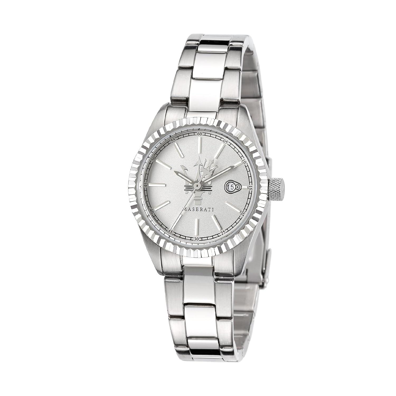 Maserati Damen-Armbanduhr XS Analog Quarz Edelstahl R8853100503