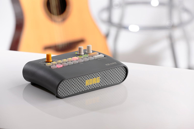 Korg KR Mini KR-55 - Caja de ritmos, color negro: Amazon.es ...
