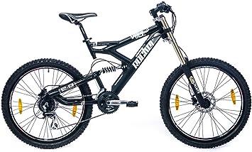 Rocker Vole 2.0 - Bicicleta de montaña, 26 pulgadas, color negro ...