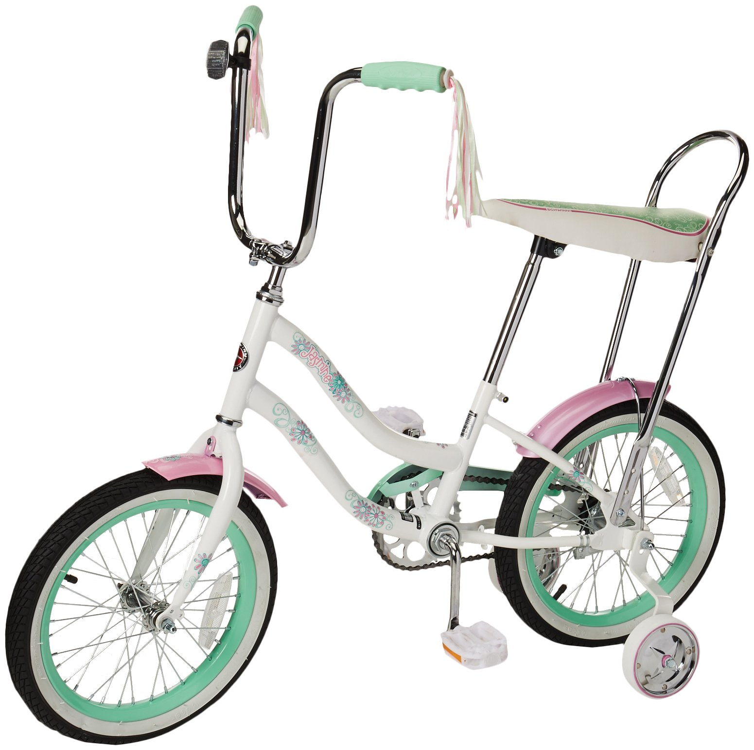 Schwinn Girl's Jasmine 16-Inch Bicycle, White by Pacific Cycle