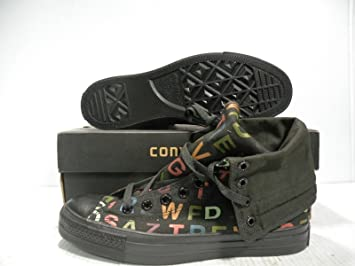 20b125df7b91f5 Image Unavailable. Image not available for. Colour  CONVERSE ALL STAR CHUCK  TAYLOR HI ALPHABET MEN WOMEN SHOES ...