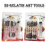 Art Cake Tools, Woohome 22 PCS 3D Gelatin Jelly