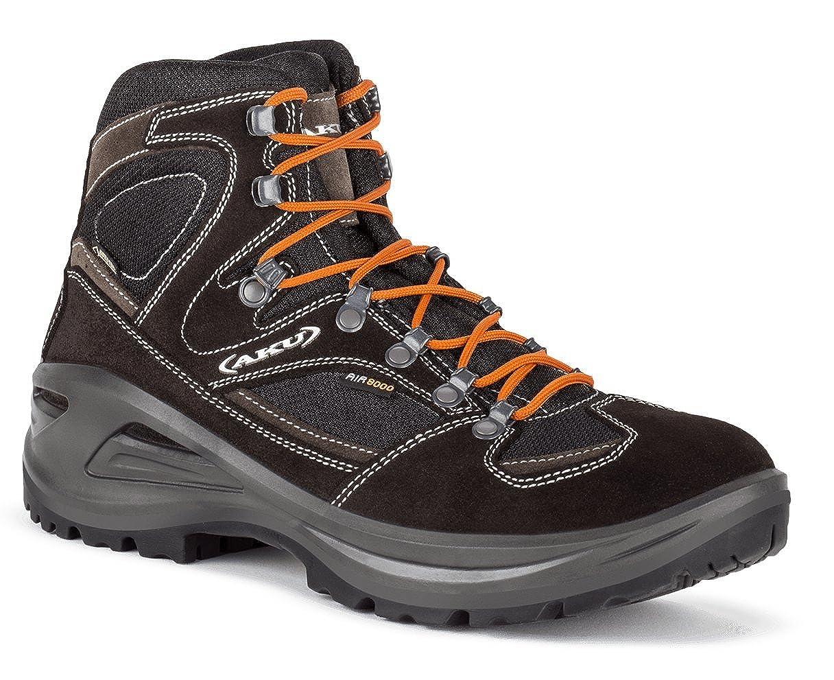 AKU Sendera GTX - Schwarz Orange - - - EU 47 UK 12 US 12.5 - Komfortabler Wasserdichter Gore-Tex® Wanderschuh e1949b