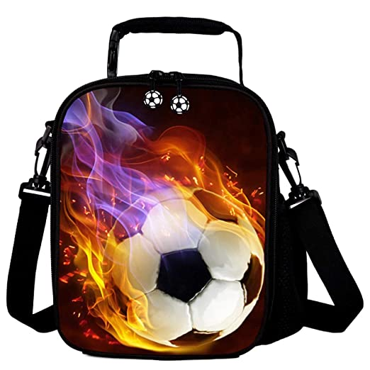 7-Mi 3D Futbol Kids Reutilizable Lunch Container Kids Lunch Bags ...