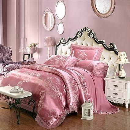 Amazon.com: Abreeze Contemporary Bedding Set Jacquard Duvet ...