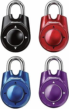 Master Lock 1500ID Speed Dial Candado de Combinación, Colores Surtidos: Amazon.es: Bricolaje y herramientas